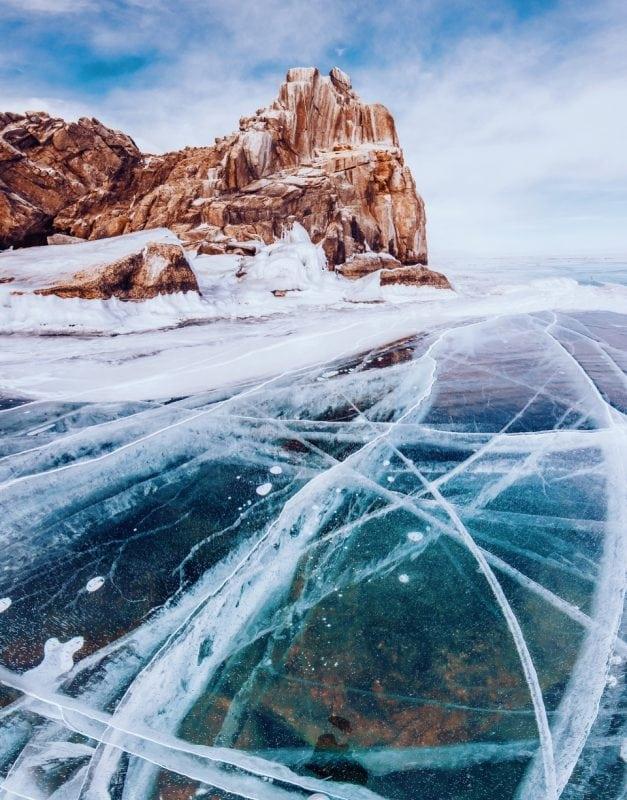 Подборка фото зимнего Байкала — потрясающее зрелище!