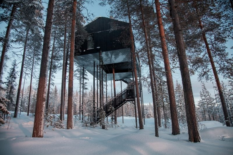 Оригинальный отель в Лапландии