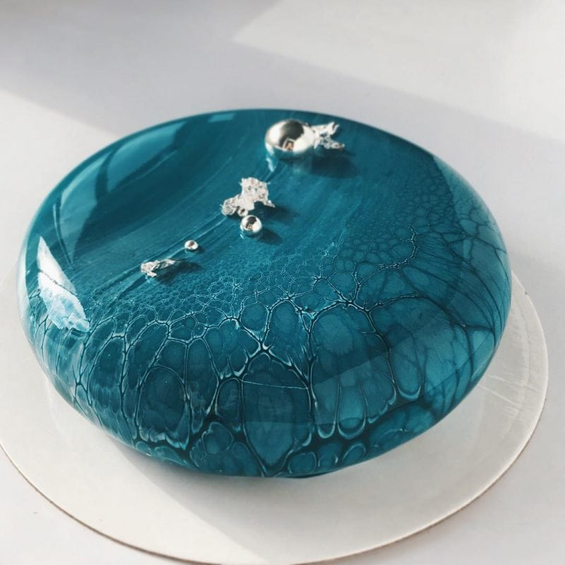 Невероятно крутые торты в зеркальной глазури
