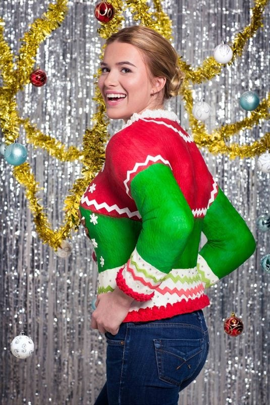 Первый в мире съедобный рождественский свитер