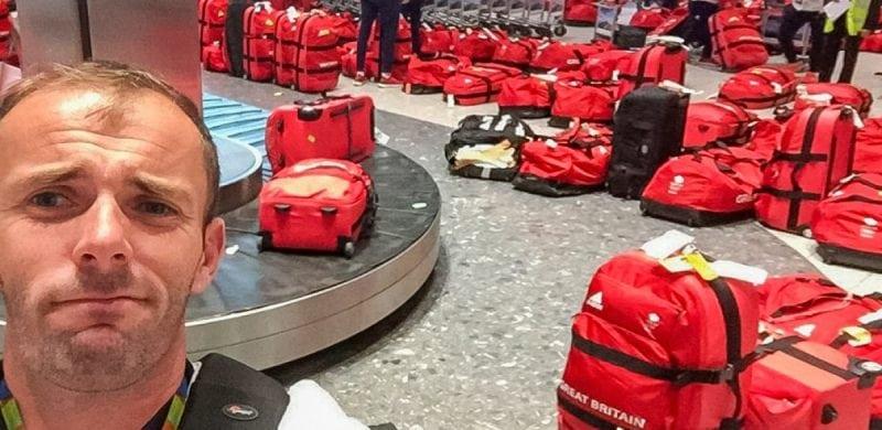 Британские спортсмены радовались одинаковым чемоданам, пока не оказались в аэропорту