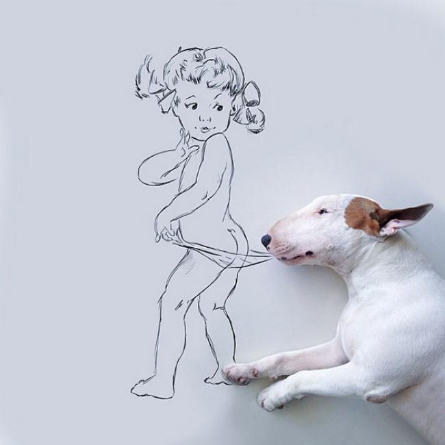 Бывшая жена не оставила мужу ничего, кроме собаки. И вот что он сделал…