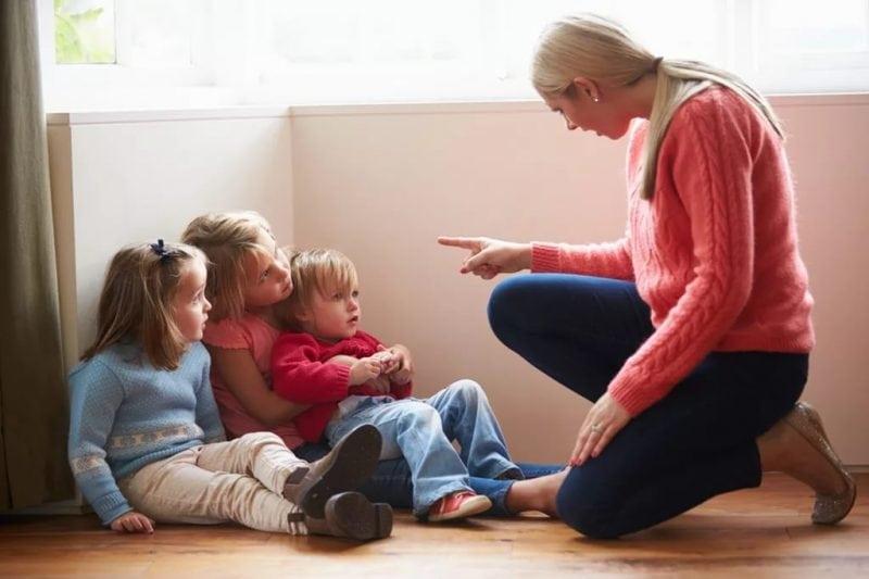 Дети рассказывают как их ругают родители. Просто угар!