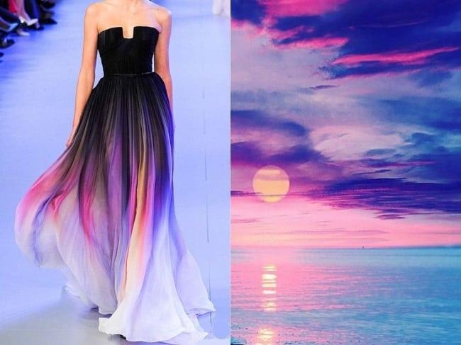 Этот модельер вдохновлен природой! Потрясающие платья!