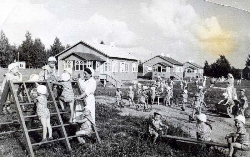 Детские сады в СССР. 23 фотографии