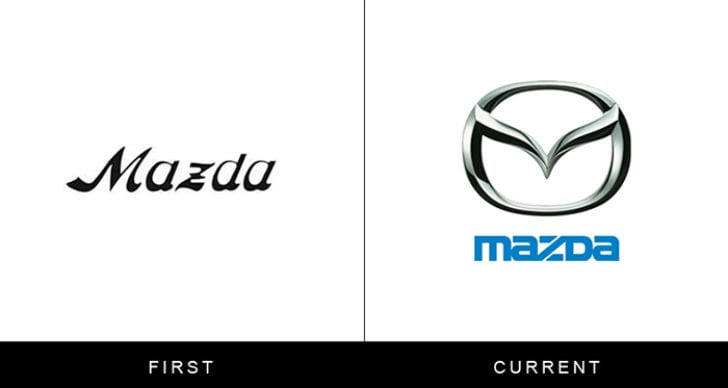 Логотипы известных брендов: тогда и сейчас
