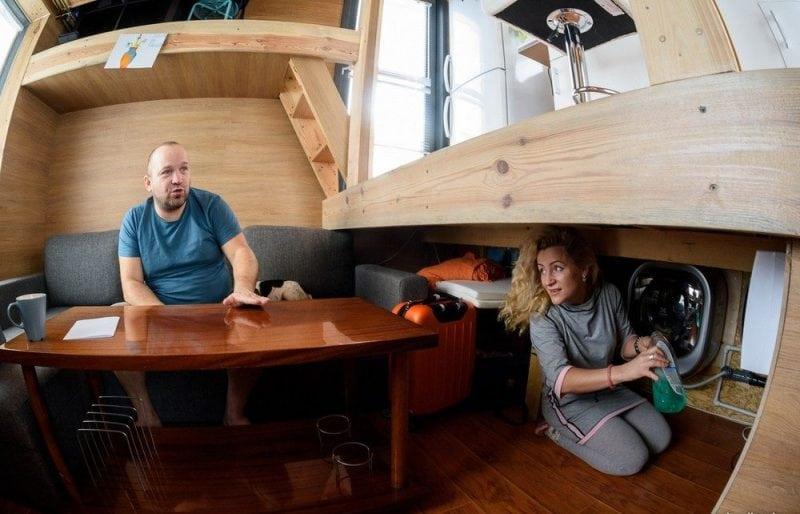 Микродом площадью 16 квадратных метров под Минском
