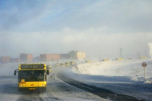 На краю света. 14 фото из Норильска — самого северного города мира!