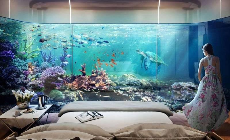 Архитектурные творения с подводным этажом никого не оставят равнодушным…