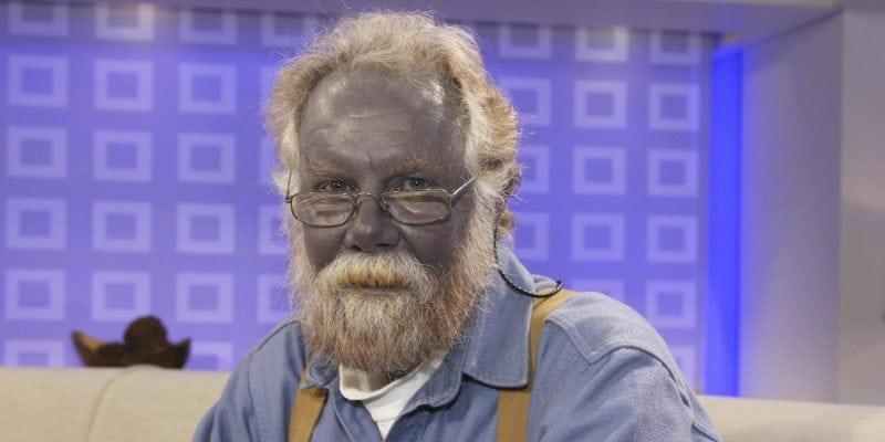 Пол Карсон — человек с синей кожей