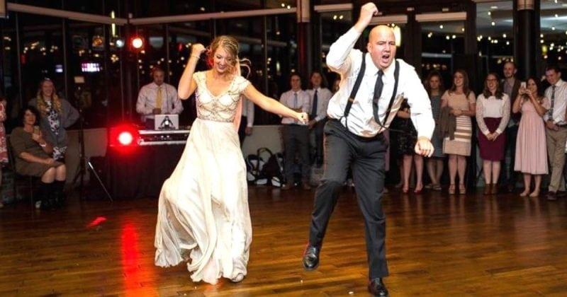Папа с дочкой просто взорвали вечеринку своим свадебным танцем