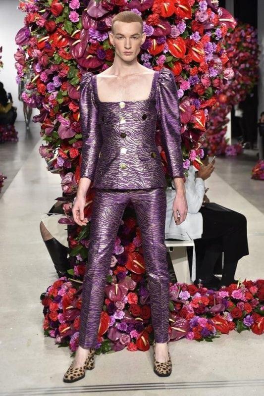 Похоже, человечество на грани вымиранияВ Нью-Йорке прошел показ мужской моды
