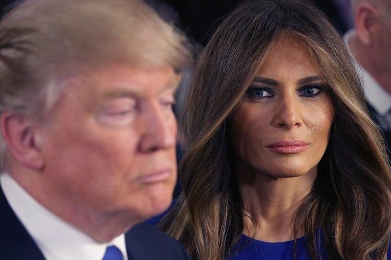 После инаугурации все СМИ трубят о выражении лица Мелании Трамп. Так вот в чём дело...