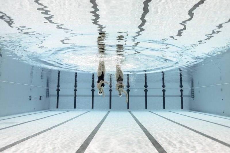 Синхронное плавание: эффектные кадры под водой!