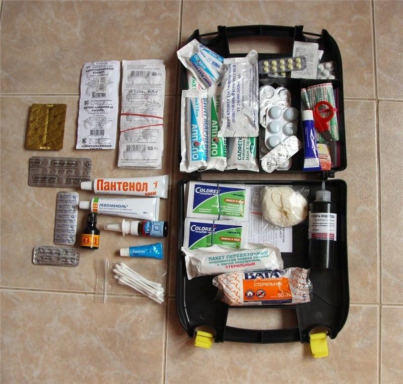 Аптечка в дорогу для беременной 66