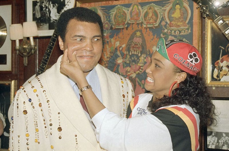 Величайший Мохаммед Али за пределами ринга