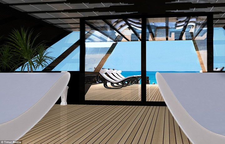 Яхта «Черный Лебедь» — самая роскошная и невероятная игрушка для миллионеров