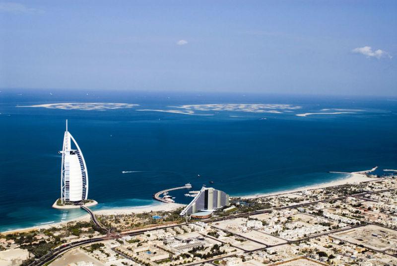 Знаете ли Вы как создают искусственные острова в Дубаи?