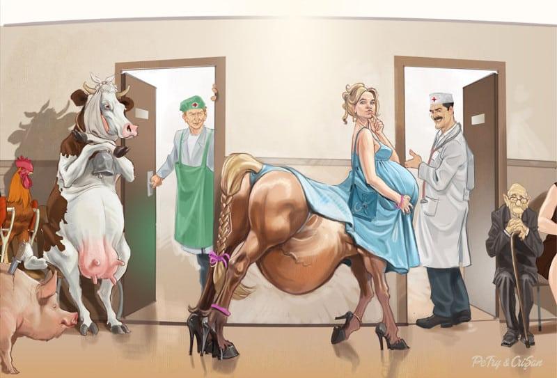 11 карикатур, которые отражают современную действительность нашего общества!