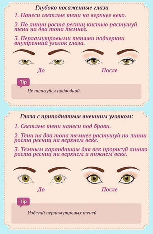 20 советов по макияжу в картинках! От и До!