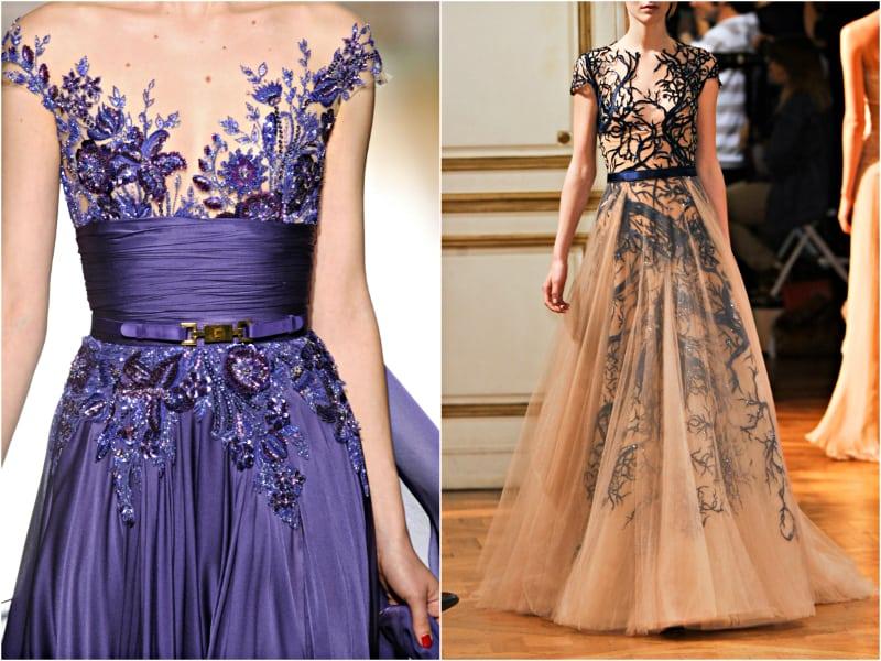 20 великолепных платьев, расшитых бисером!