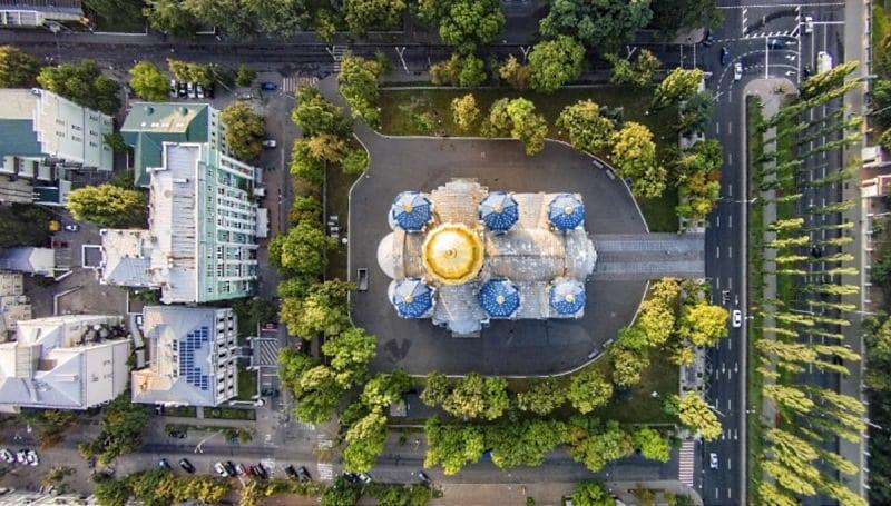 25 завораживающих фотографий разных городов мира с высоты птичьего полета