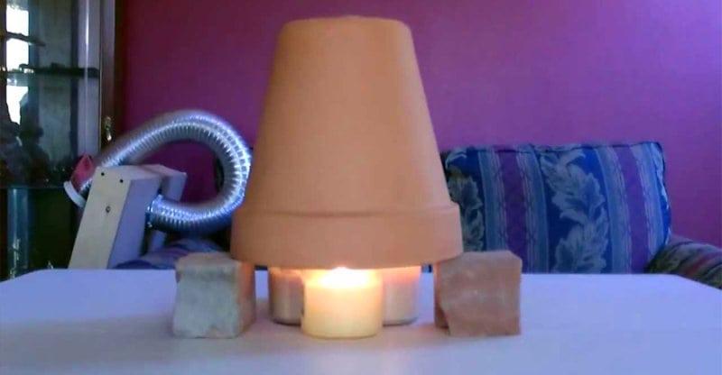 Если зимой холодно дома! Потрясающе простой способ обогреть большое помещение!