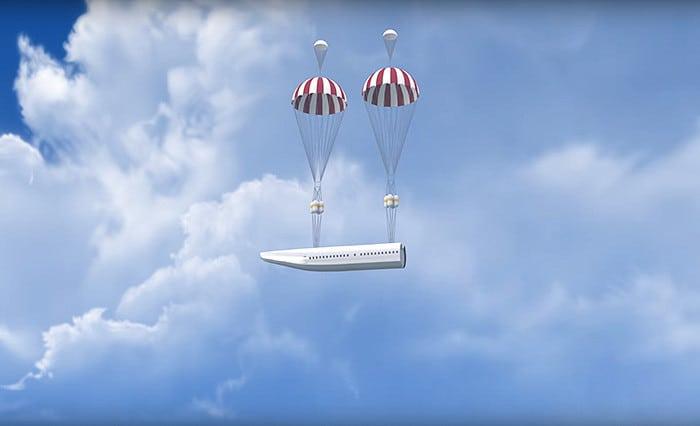Инженеры создали самолет со встроенными парашютами. Теперь нам не страшны авиакатастрофы