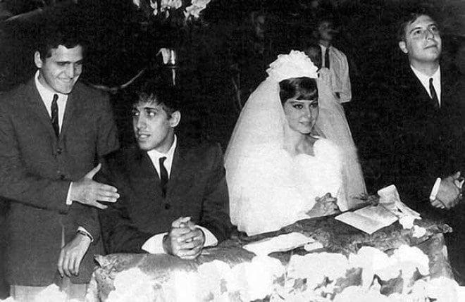 Красавец Адриано Челентано и его супруга отметили золотую свадьбу!
