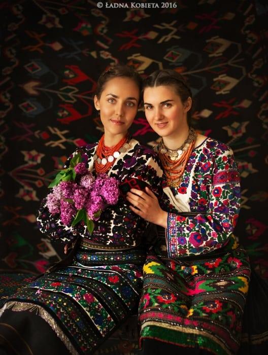 Красота украинских девушек на фотографиях