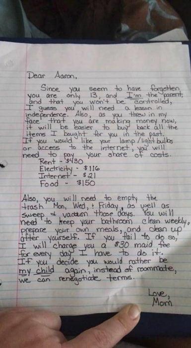 Люди просто в восторге от того, что написала эта мама своему сыну! Запись собрала более 165 000 репостов