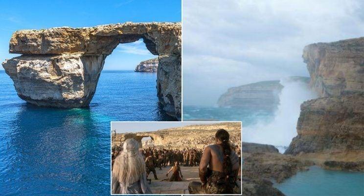 На Мальте знаменитая скала «Лазурное окно» была разрушена. Больше вы не сможете насладиться этой красотой...