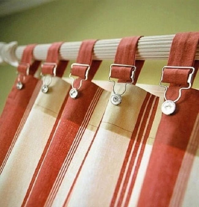 20 потрясающих способов подвешивания штор!