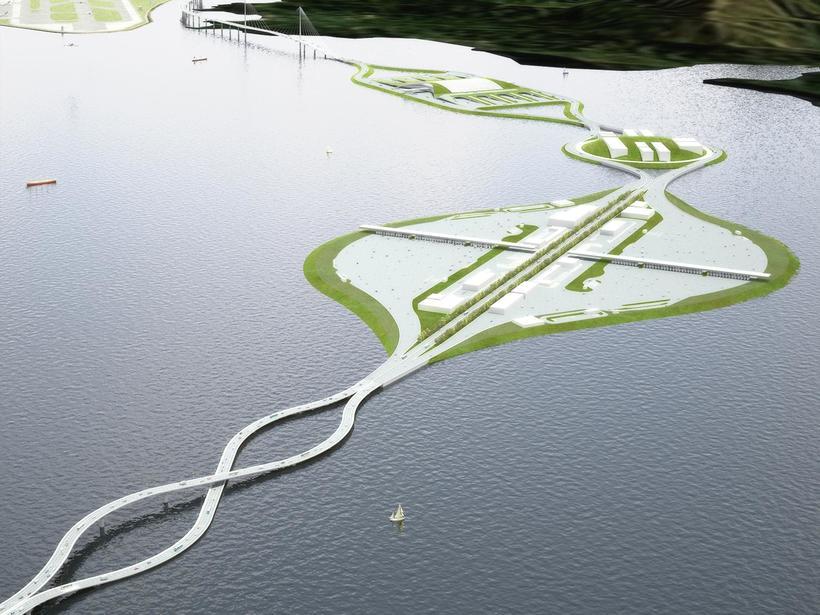 Необычный мост соединяющий Гонконг и КНР