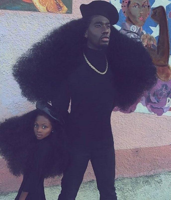 Отец и дочь с восхитительными прическами, которые покорили весь мир