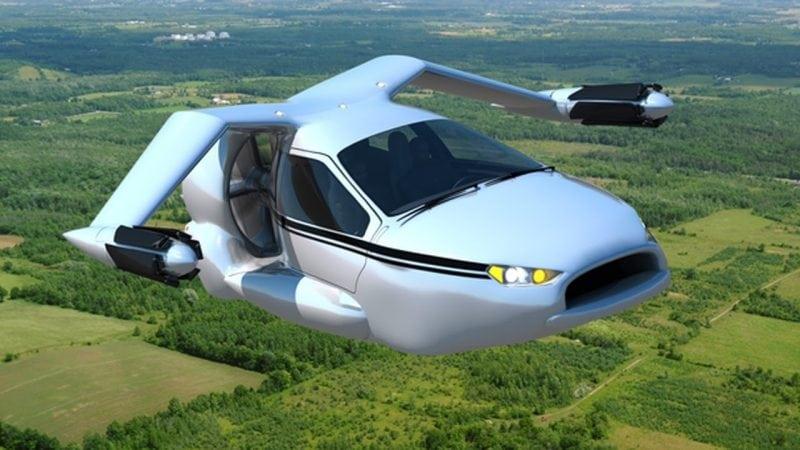 Первый в мире летающий авто начнут продавать в 2017 году!