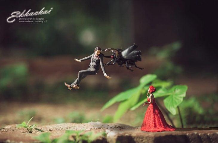 Прекрасная фотосессия влюбленных в мини-формате
