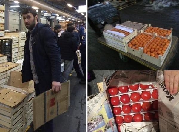 Продавец фруктов и овощей из Узбекистана отдал бесплатно все что у него было больным детям!