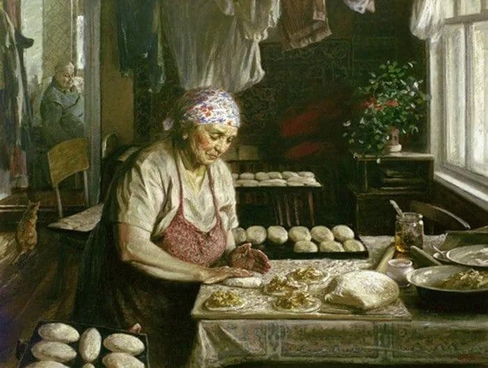 Рассказ «Запах бабушкиных пирожков»...Давайте вспомним своих любимых бабуль...