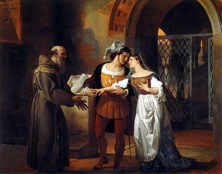 Реальные прототипы Ромео и Джульетты. Нет повести печальнее..
