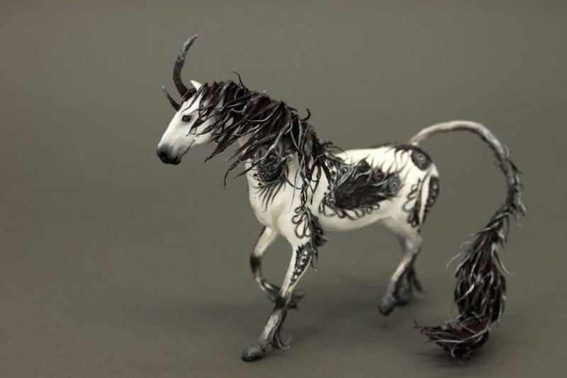 Русский художник создает потрясающие скульптуры животных. Красота!