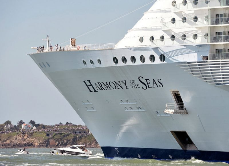 Круизный лайнер «Harmony of the Seas» – описание и фото