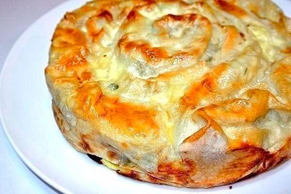 Семейный рецепт мясного пирога! О нем мне рассказала бабушка!