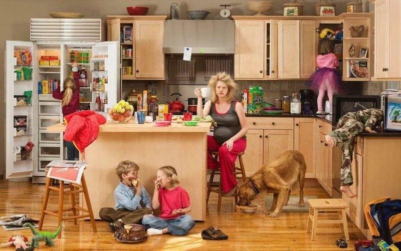 domohozyayka-odna-doma