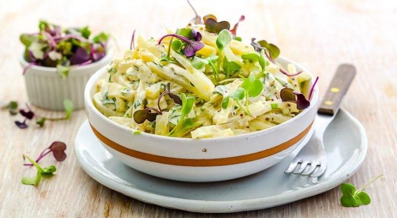 Французская заправка для салата рецепт