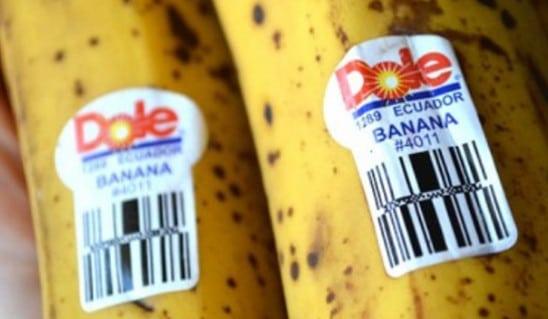 Знаете ли Вы, что означают стикеры на бананах? Будьте осторожны покупая...