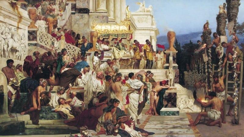 10 законов Древнего Рима, которые выглядят очень жутко и странно