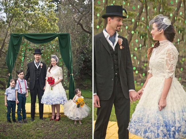 16 самых необычных тематических свадеб. Очень круто!