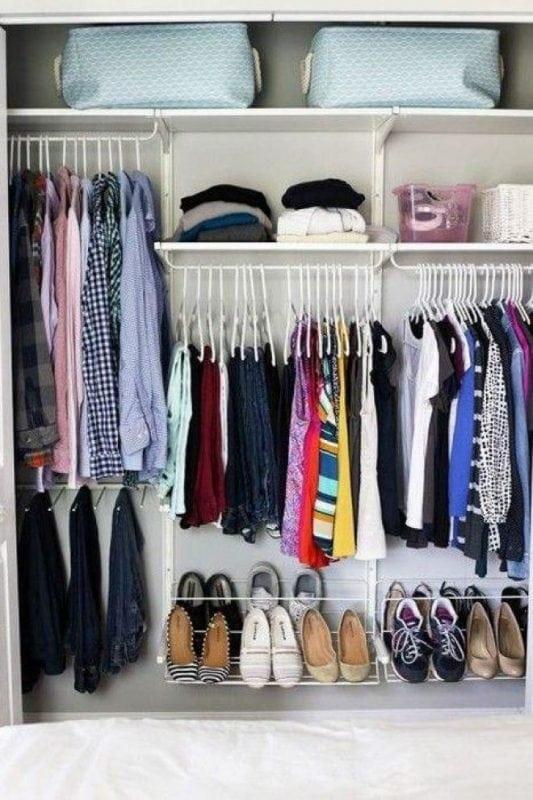 20 идей как правильно организовать место в шкафу. Лайфхак для каждой женщины!
