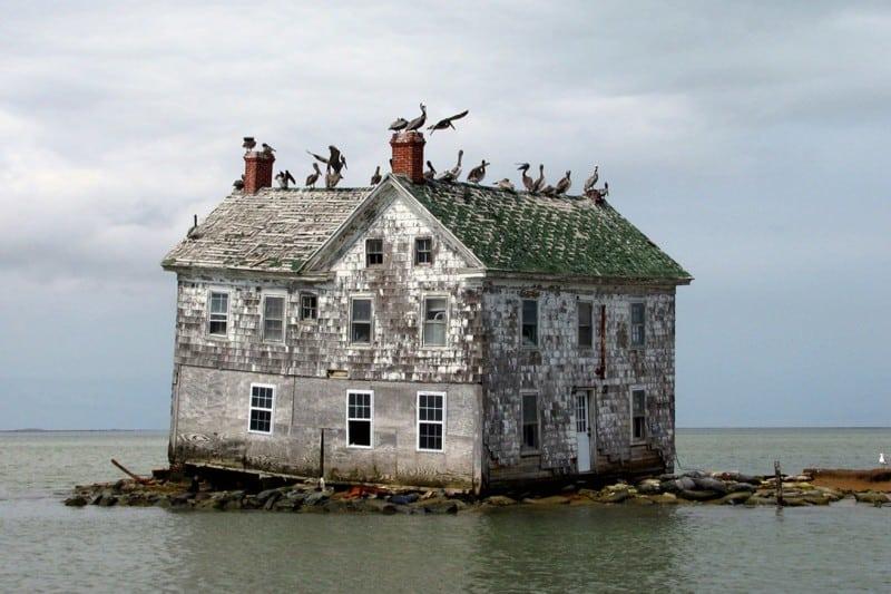 20 уютных домиков на маленьких островах. Мечта!